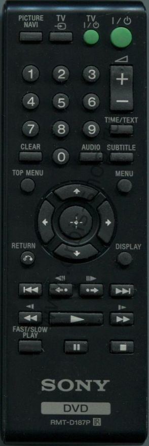 Пульт Sony RMT-D187P