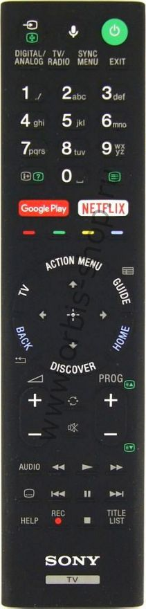 Пульт Sony RMF-TX200E